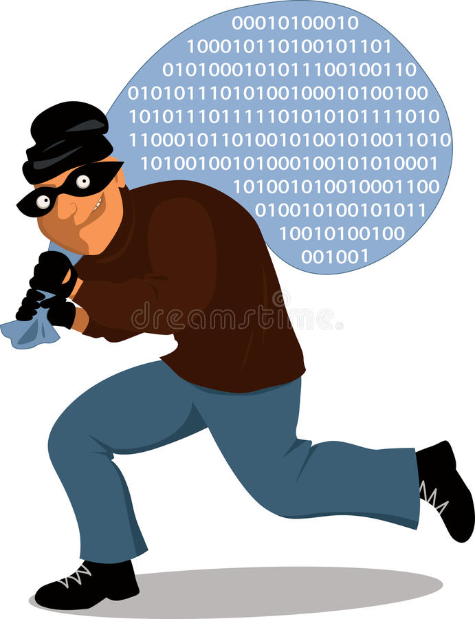 Download Computer crime stock vector. Image of cyber, illustration - 35619143