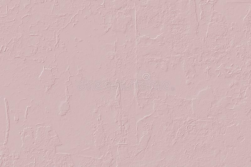 Computer 3D texture of light pink plastered wall. royalty free stock photos