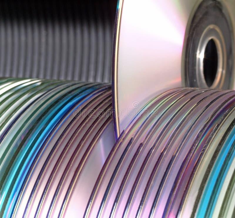 Free Computer Data Discs Library Stock Photos - 7164193