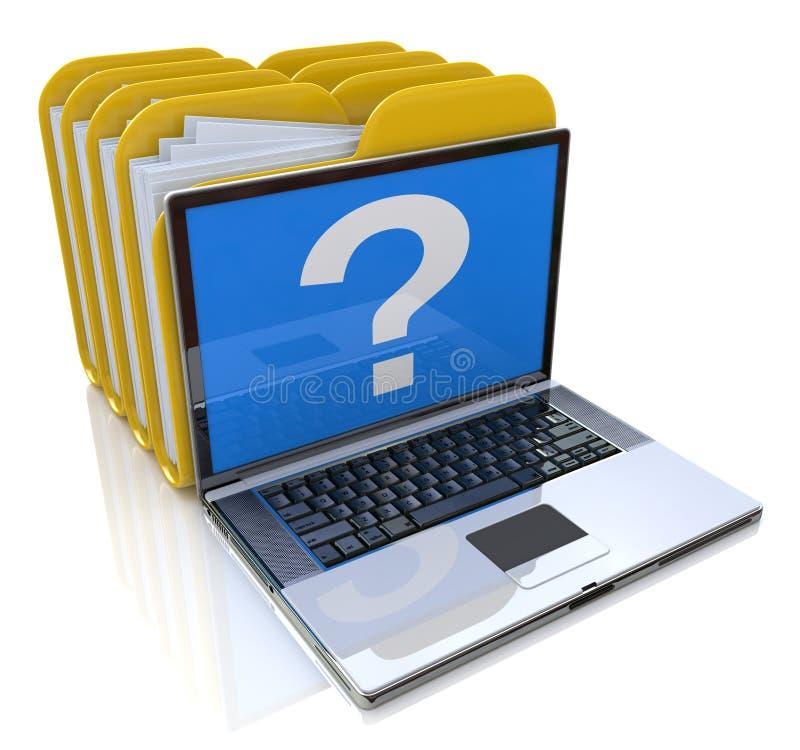 Computer-Datei lizenzfreie abbildung