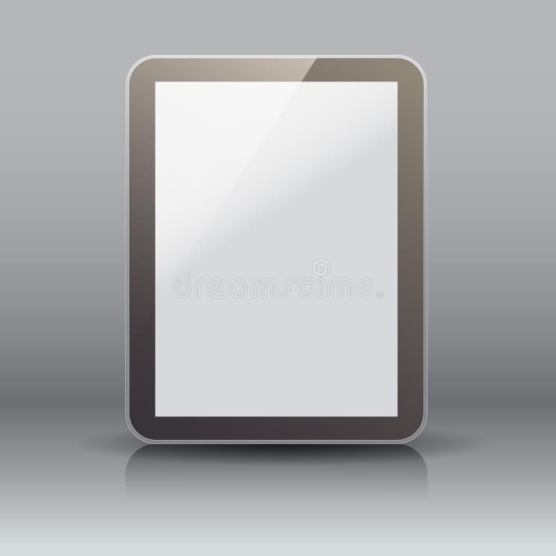 computer del pc della compressa Vettore immagini stock libere da diritti
