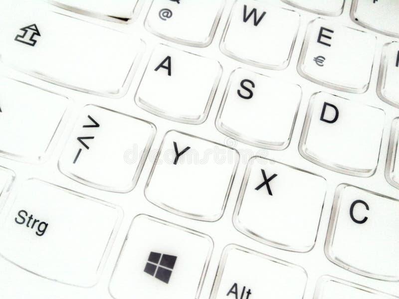 Computer della tastiera fotografia stock libera da diritti