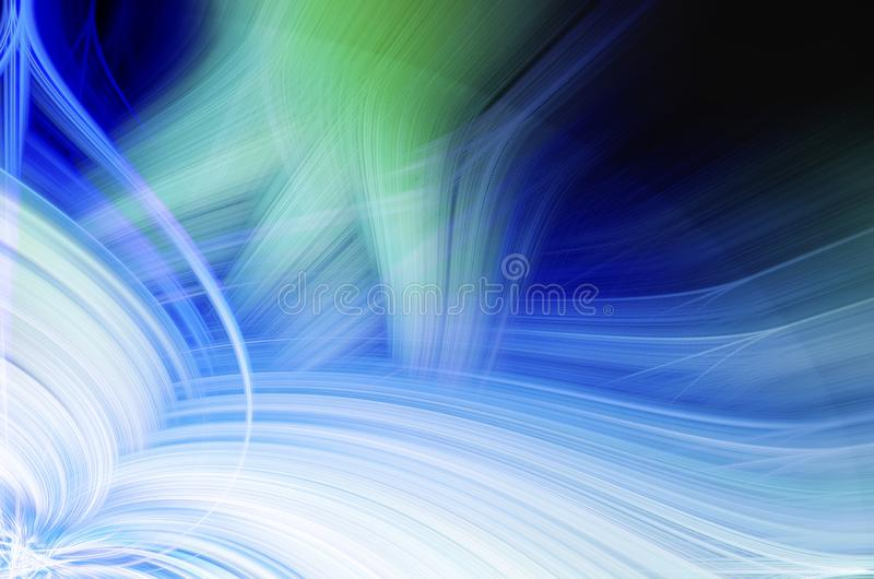 Computer designed colorful abstract background vector illustration