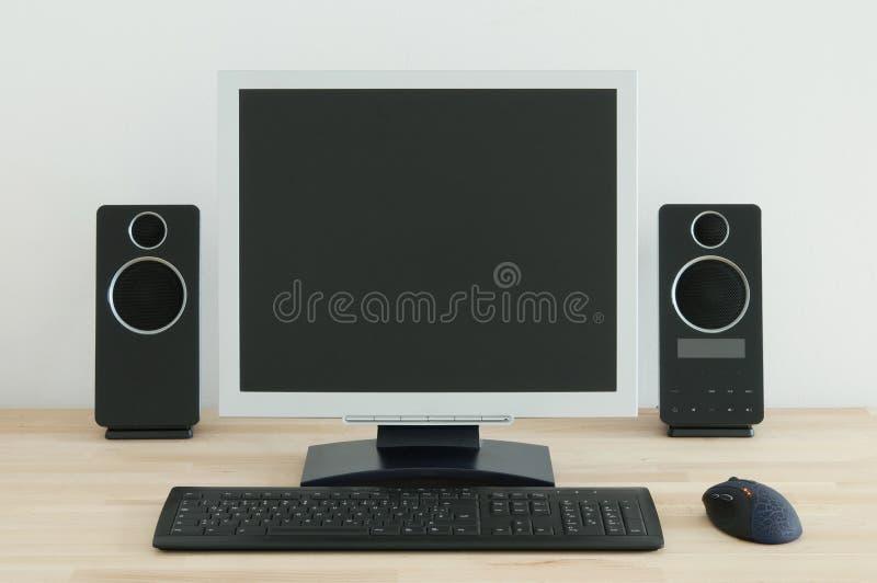 Computer Desk stock image