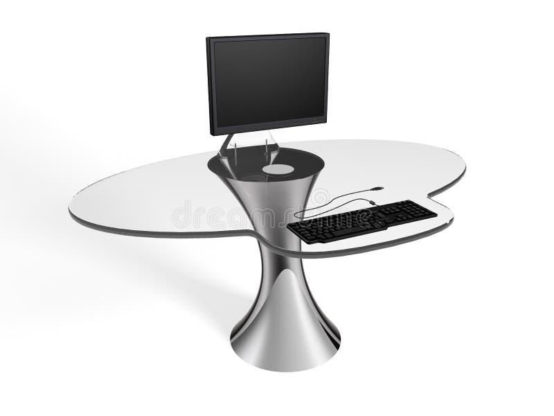Download Computer Desk stock illustration. Image of computer, modern - 27644608