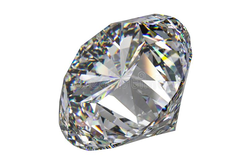 Luxury diamond gem, 3d rendering. Computer digital drawing, diamond background, 3d rendering white reflection crystal diamonds gem luxury stone sparkle jewelry royalty free stock photography