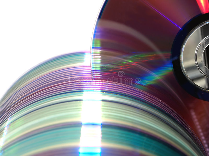 Download Computer Discs Data Library Stock Image - Image: 4417883