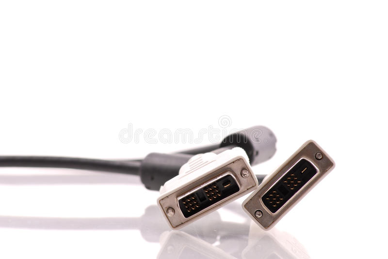 Download Computer DVI Connections stock photo. Image of fast, current - 19131764