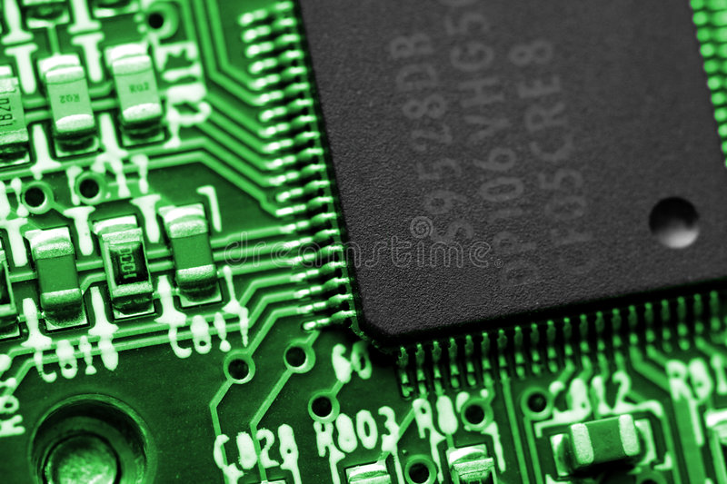 Computer Electronics Royalty Free Stock Photography