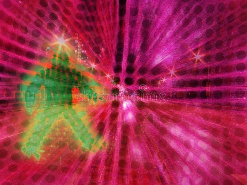 Computer erhöhte Foto - abstrakte Collage stock abbildung