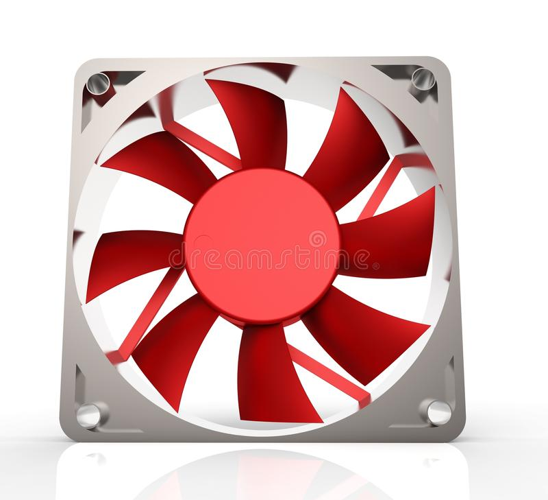Free Computer Fan For Cpu Or Power Supply - Isolated On White Stock Photography - 54596172