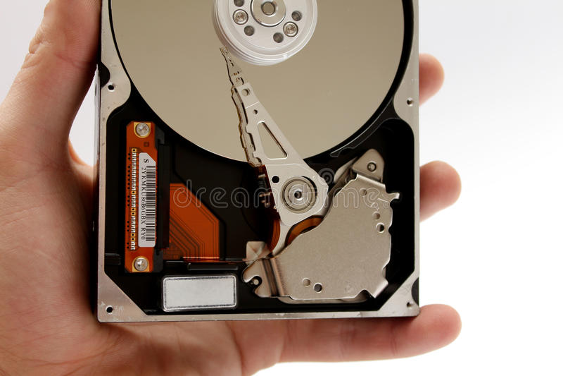 Computer-Festplattenlaufwerk HDD lizenzfreie stockbilder