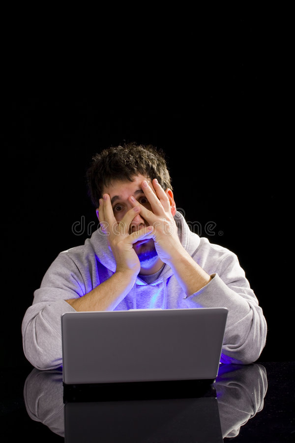 Download Computer Frustration Royalty Free Stock Photo - Image: 8865995