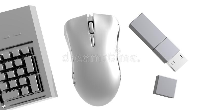 Computer Gadgets stock photography