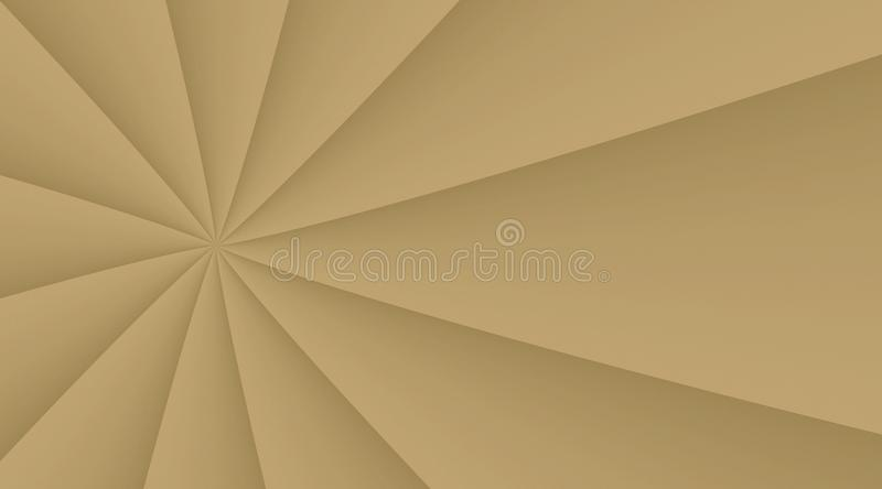 Tan taupe beige smooth revolving turning lines background illustration design. Computer generated abstract fractal background illustration featuring a modern tan royalty free illustration