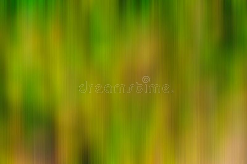 Abstract Green And Yellow Vertical Motion Blur Background royalty free illustration