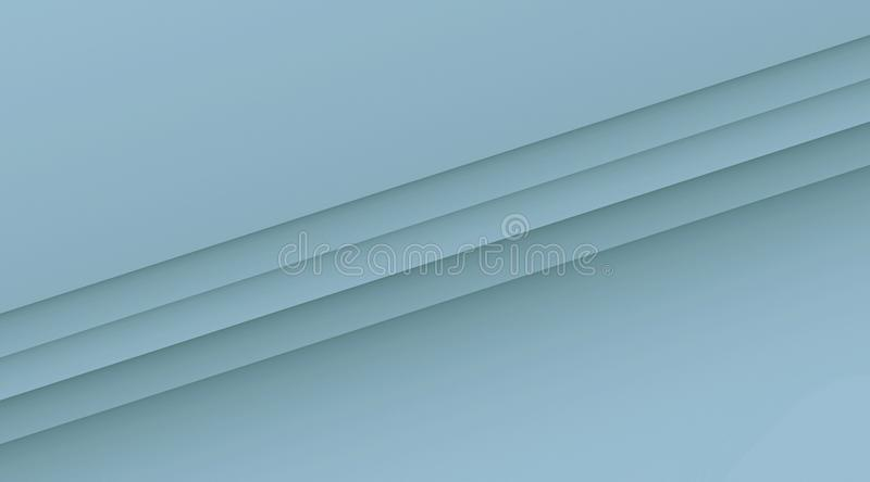 Simple clean diagonal lines geometric background illustration with copy space in color shades of pale blue. Computer generated geometric clean, crisp, and simple stock illustration