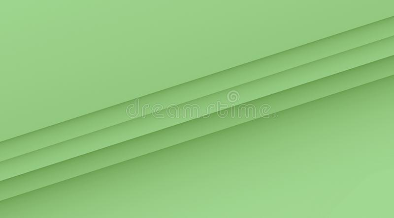 Clean crisp diagonal lines geometric background illustration with copy space in color shades of pale green. Computer generated geometric clean, crisp, and simple royalty free illustration