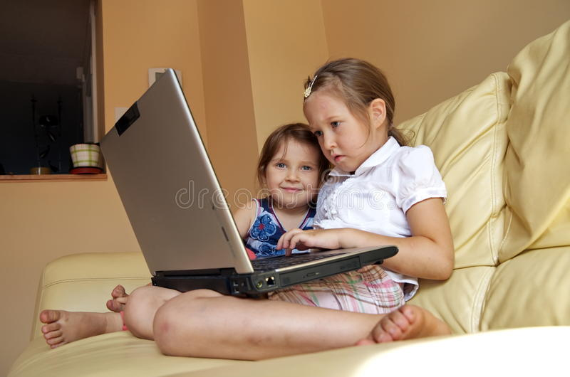 Download Computer Girls Stock Images - Image: 11644394