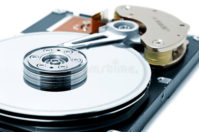 Download Computer hard Disk Drive stock image. Image of binary - 1860193