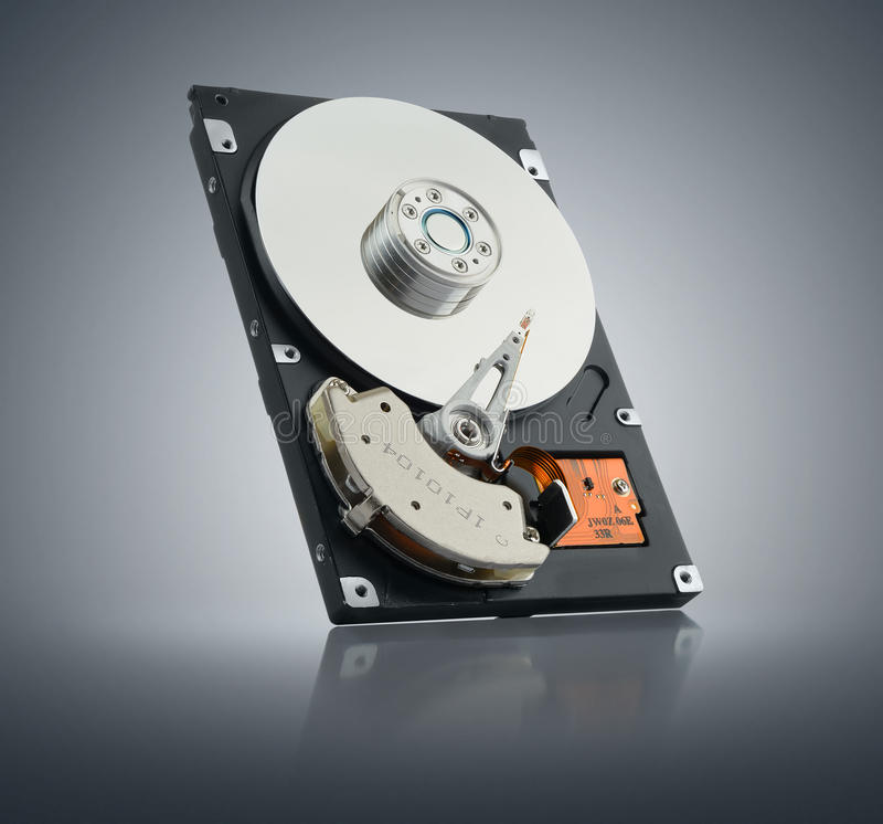 Computer hard drive. File contains a path to isolation stock photos