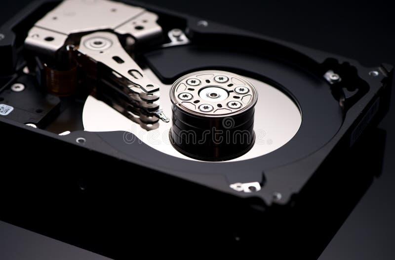 Computer hard drives stock image