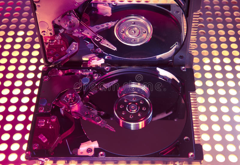 Download Computer Harddisk And Heads Stock Image - Image: 26159097