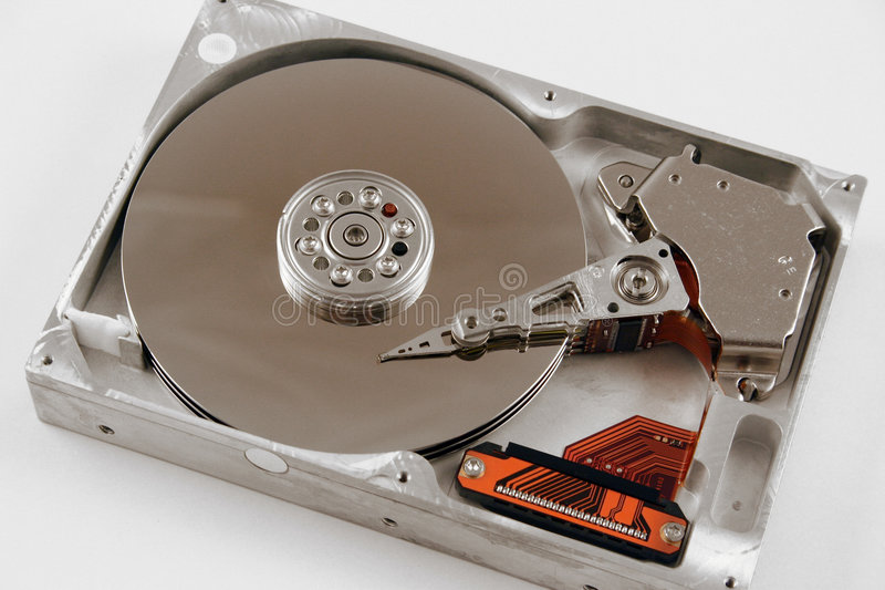 Computer Harddrive lizenzfreie stockfotografie