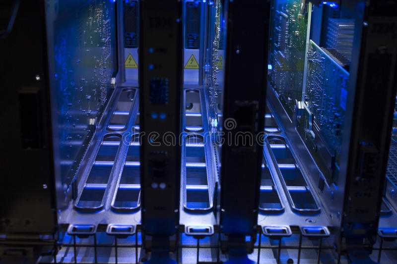 Computer hardware. A close-up of a Computer hardware stock photo