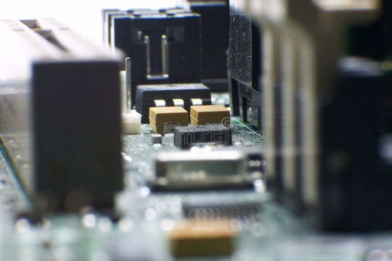 Download Computer Hardware - Motherboard Stock Image - Image: 1414885