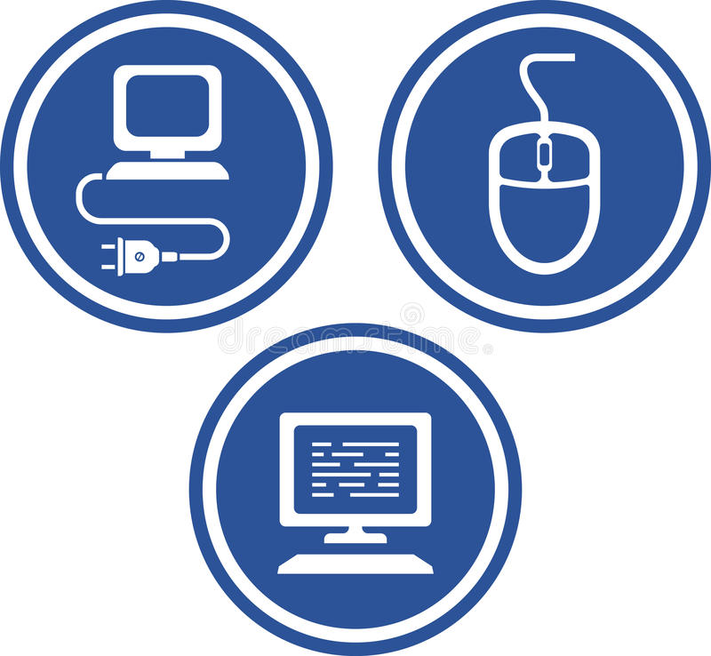 Download Computer Hardware - Vector Icons Stock Photos - Image: 21919273