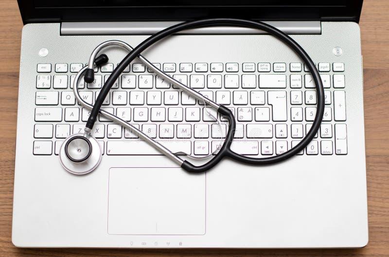 Computer health check royalty free stock photos