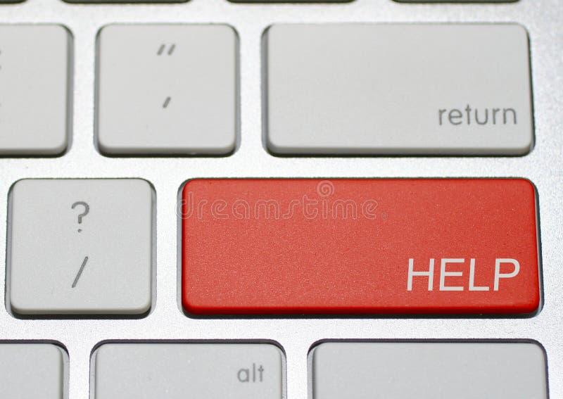 Computer-Hilfe stockfotos
