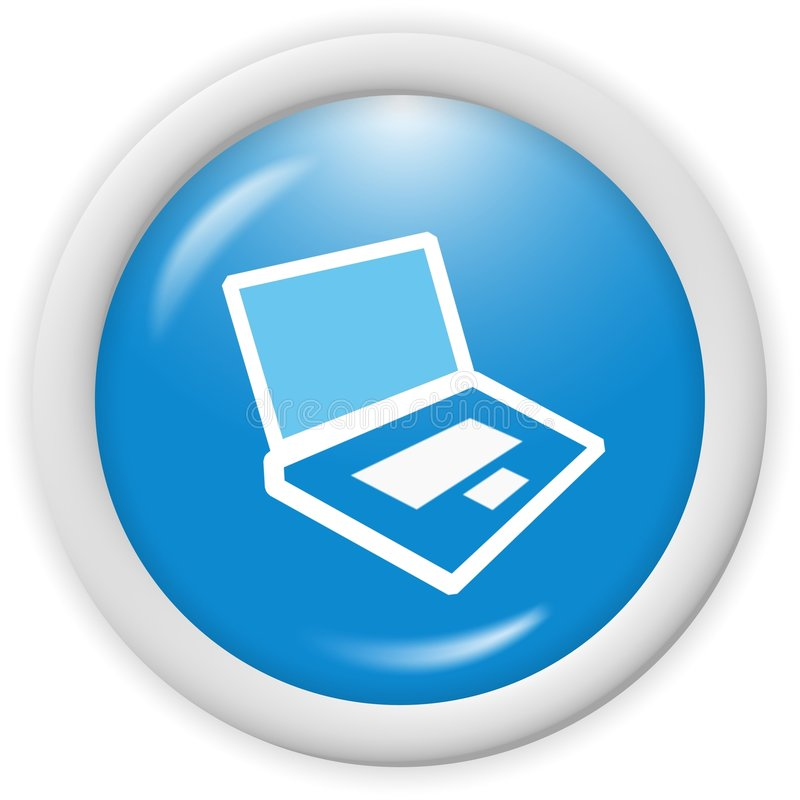 Computer icon royalty free illustration
