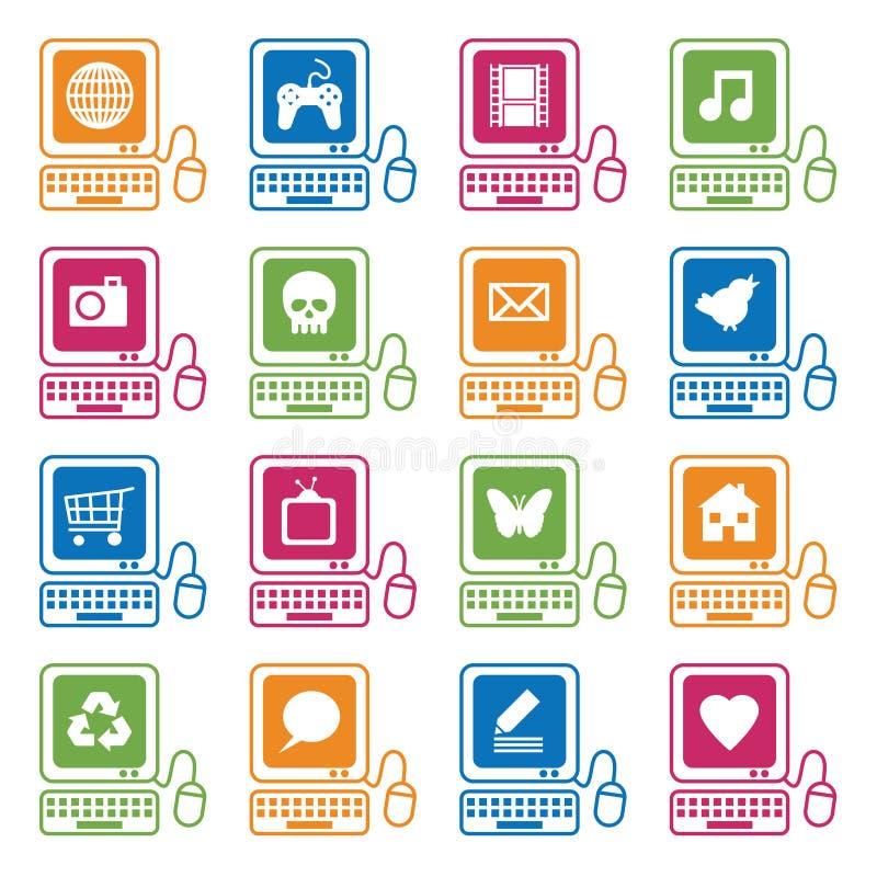 Computer icons royalty free illustration