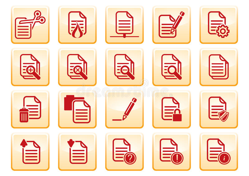 Download Computer icons stock vector. Illustration of clear, security - 13479611