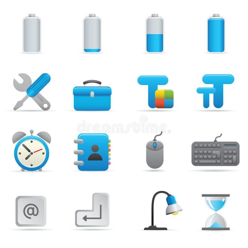 Computer Icons   Indigo Series 01 vector illustration