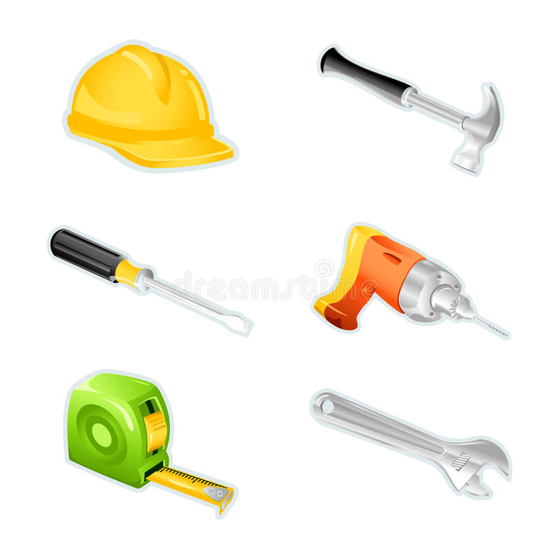 Download Computer icons, tooling stock vector. Image of wrench - 13207778