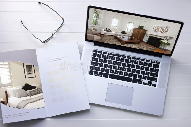 Computer-Innenarchitektur stockbilder