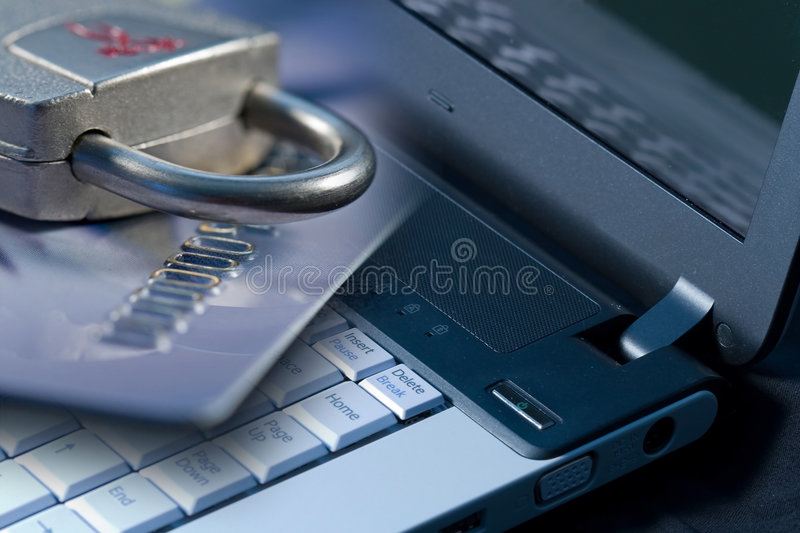 Computer-Internet Security stock photography