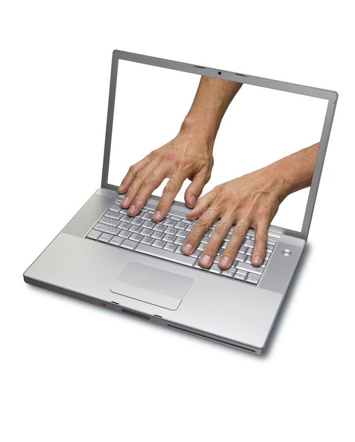 Computer Internet Security Alert stock images