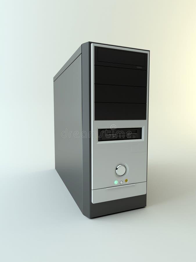 Computer-Kasten stock abbildung