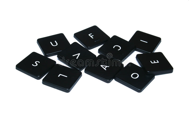 Download Computer Key Assorted Alphabet Stock Image - Image: 34353449