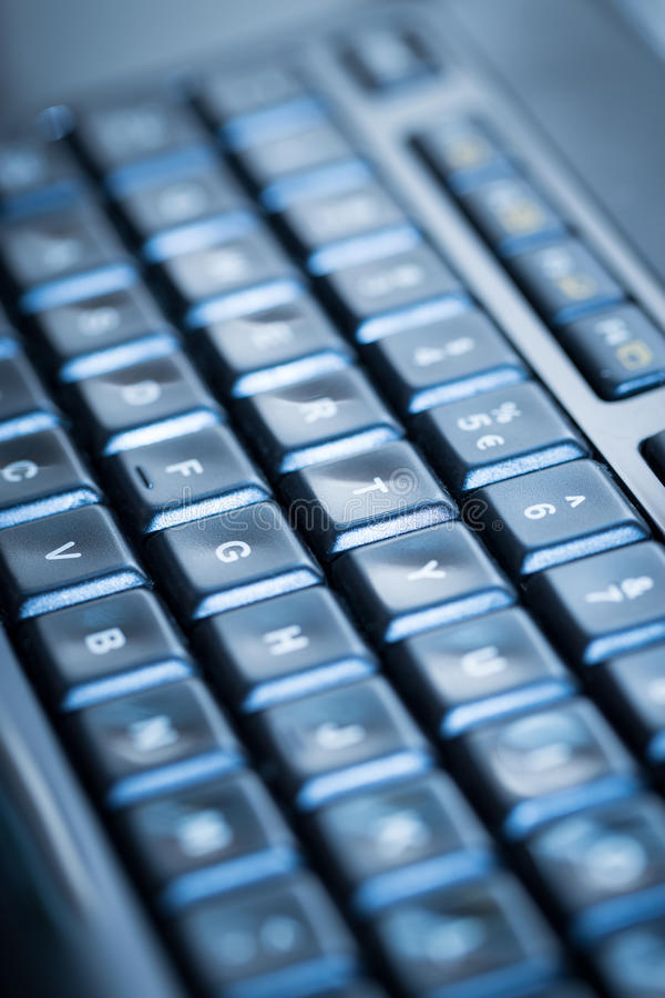 Computer keyboard background. stock photography