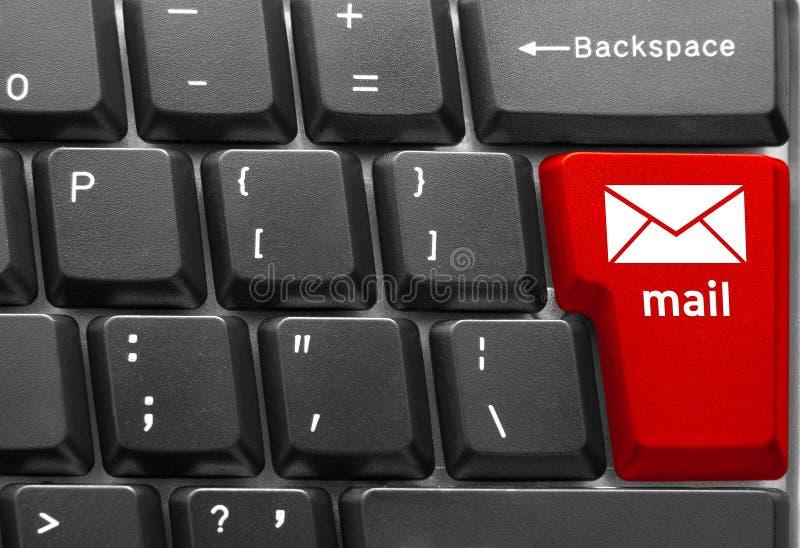 Computer keyboard concept stock photos