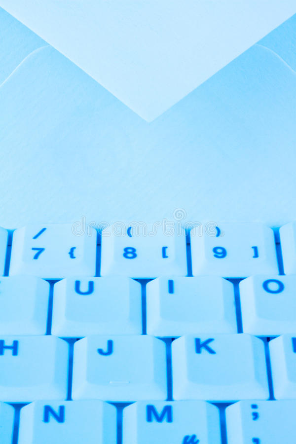 Download Computer Keyboard And Envelope. E-mail. Stock Photo - Image: 18049924