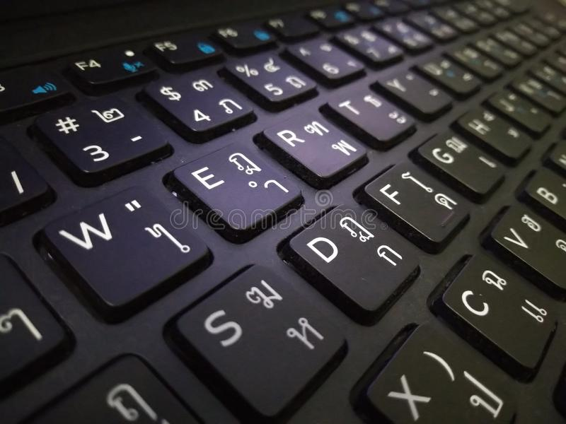 Computer Keyboard, wallpaper, background stock image