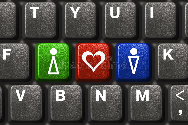 Download Computer Keyboard With Yes, No And Maybe Keys Stock Illustration - Image: 7545783