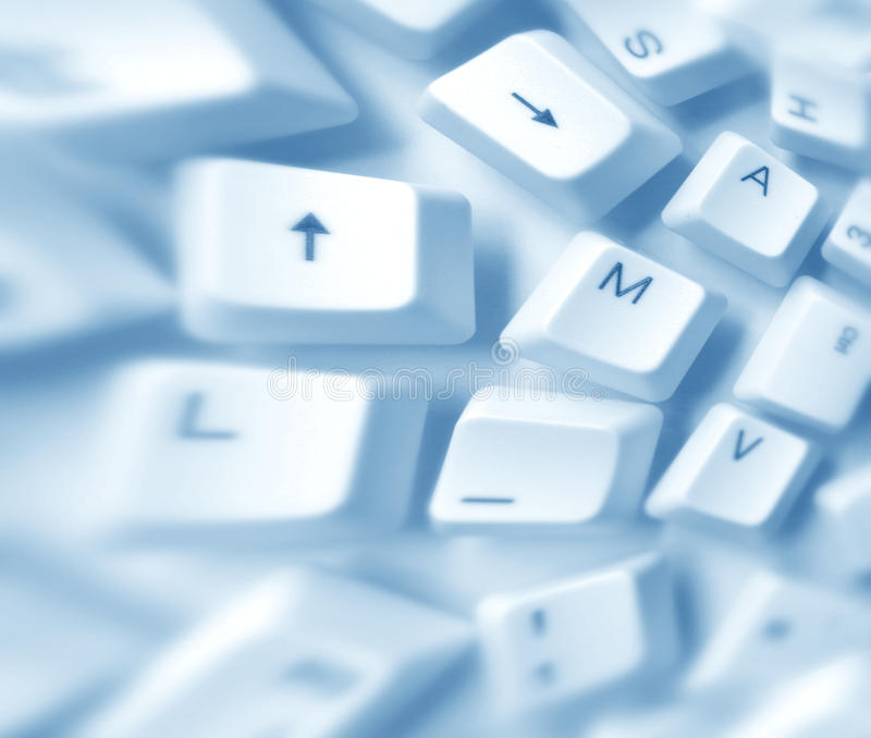 Download Computer keys stock illustration. Image of buttons, detail - 33228491