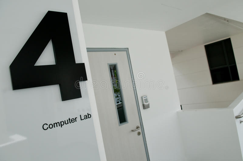 Computer Lab 4 stock photo